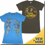 DC Comics Junk Food Girls Shirt