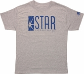 DC Comics STAR Laboratories Heather Youth T-Shirt