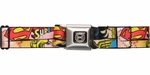 DC Comics Women Superheroines Seatbelt Belt