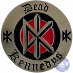 Dead Kennedys Round Belt Buckle
