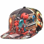 Deadpool All Over Sublimated Hat
