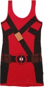 Deadpool Costume Tank Top Dress