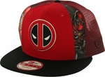 Deadpool Dye Slice Mesh 9FIFTY Hat