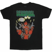 Deadpool Feeling Watched T Shirt Sheer