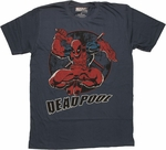 Deadpool Hop Circle T Shirt Sheer