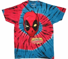 Deadpool Insufferable Tie Dye T-Shirt Shirt of the Day