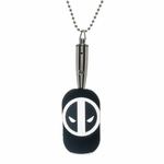 Deadpool LED Light Up Dog Tag
