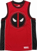 Deadpool Logo Basketball Jersey