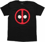 Deadpool Logo Jack of All Trades T Shirt Sheer