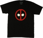 Deadpool Logo T Shirt Sheer