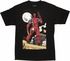 Deadpool Roof Moon T Shirt