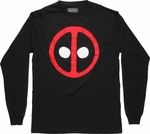 Deadpool Symbol Long Sleeve T Shirt