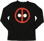 Deadpool Thermal Long Sleeve T Shirt