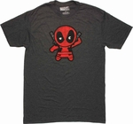 Deadpool Toy T Shirt Sheer