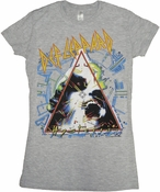 Def Leppard Hysteria Baby Tee