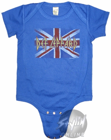 Def Leppard Rebel Snap Suit