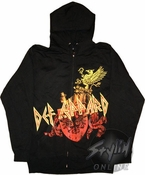 Def Leppard Shield Hoodies