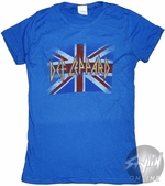 Def Leppard Union Jack Music Baby Tee