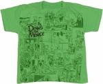 Dennis the Menace Comic Toddler T Shirt