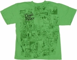 Dennis the Menace Comic Youth T Shirt