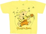 Dennis the Menace Guitar Juvenile T Shirt