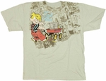 Dennis the Menace Wagon Youth T Shirt