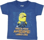 Despicable Me Awesome Toddler T Shirt