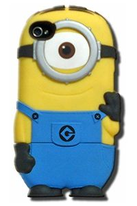 Despicable Me Carl Chara-Cover 4/4S Phone Case