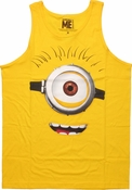 Despicable Me Carl Face Tank Top