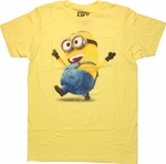 Despicable Me Dave Dance T Shirt Sheer