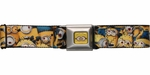 Despicable Me Minion Group Seatbelt Mesh Belt