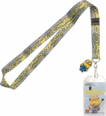 Despicable Me Minion Heads Charm Lanyard