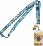 Despicable Me Minion Line Charm Lanyard