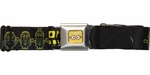 Despicable Me Minion Powered Seatbelt Mesh Belt