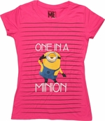 Despicable Me One in a Minion Baby Tee