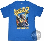 Destroy All Humans 2 Make War T-Shirt