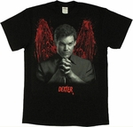 Dexter Bloody Wings T Shirt