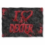 Dexter I Heart Dexter Pillow Case