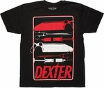 Dexter Instrument Tray T Shirt Sheer