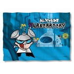 Dexter's Lab Laboratory Pillow Case