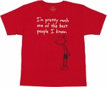 Diary of a Wimpy Kid Best Youth T Shirt