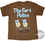 Diary of a Wimpy Kid Fart Police Youth T-Shirt