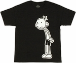 Diary of a Wimpy Kid Greg Full Youth T Shirt