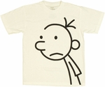 Diary of a Wimpy Kid Greg White Youth T Shirt