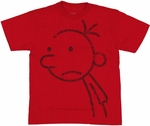Diary of a Wimpy Kid Greg Youth T-Shirt