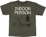 Diary of a Wimpy Kid Indoor Charcoal Youth T Shirt