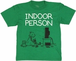 Diary of a Wimpy Kid Indoor Green Youth T Shirt