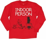Diary of a Wimpy Kid Indoor Red Long Sleeve Youth T Shirt