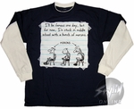 Diary of a Wimpy Kid Morons Long Sleeve Youth T-Shirt