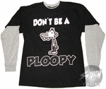 Diary of a Wimpy Kid Ploopy Long Sleeve Youth T-Shirt